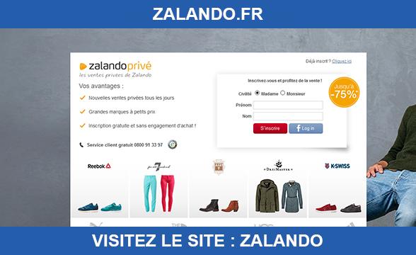 Zalando informations sur le site - Toutes les ventes privees en ligne ...