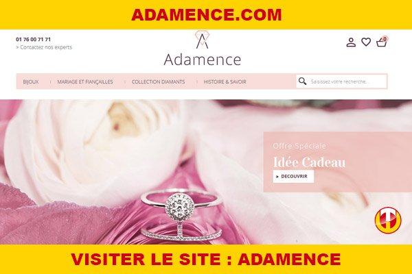 Site internet : Adamence