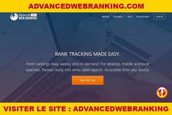 Site internet : Advancedwebranking