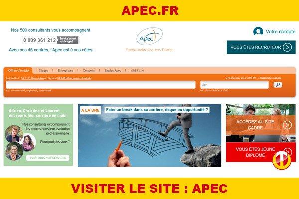 Site internet : Apec