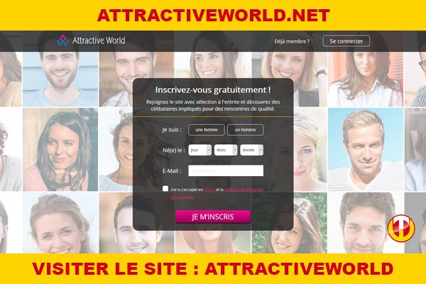 Site internet : AttractiveWorld