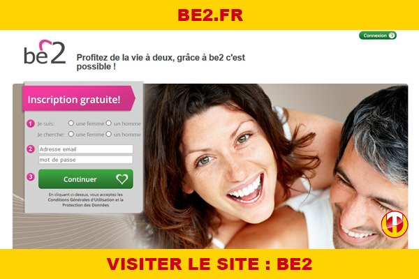 Site internet : Be2
