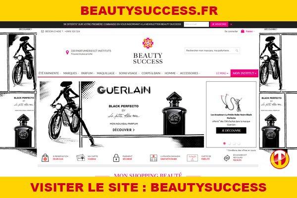 Site internet : Beautysuccess
