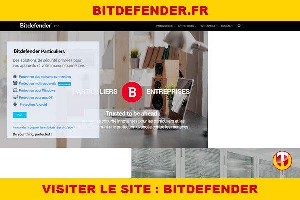 Site internet : Bitdefender