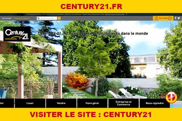 Site internet : Century21