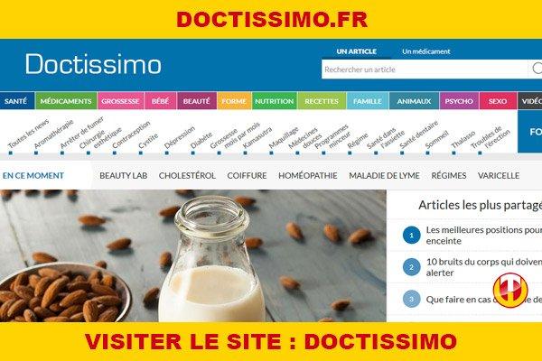 Site internet : Doctissimo