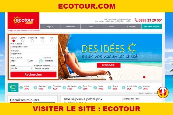 Site internet : Ecotour
