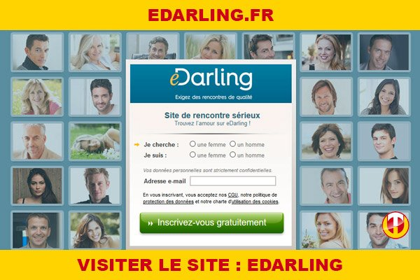 Site internet : Edarling