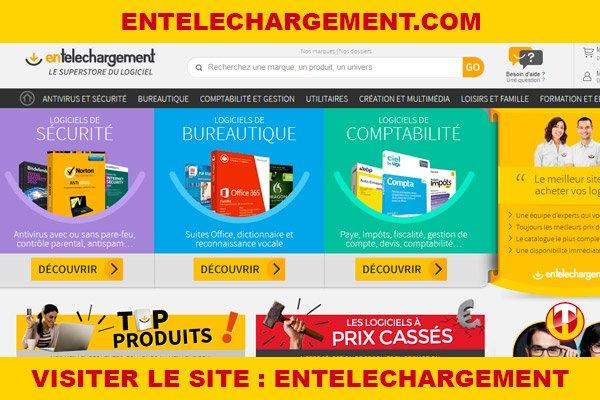 Site internet : Entelechargement
