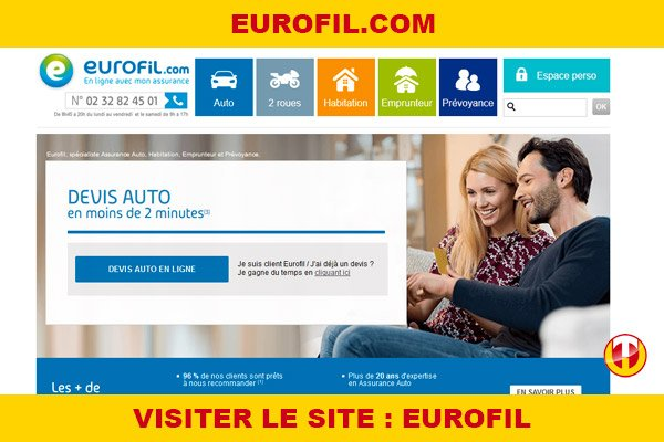 Site internet : Eurofil