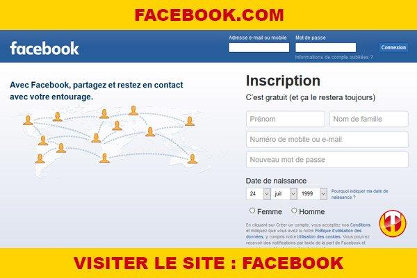Site internet : Facebook
