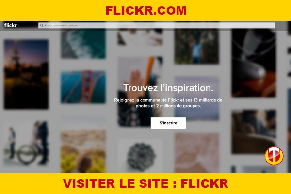 Site internet : Flickr