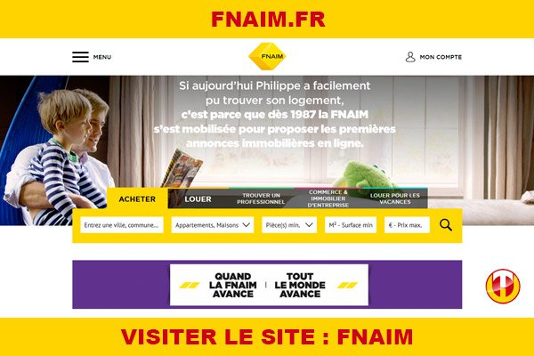 Site internet : Fnaim