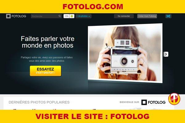 Site internet : Fotolog