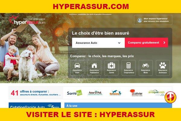 Site internet : Hyperassur