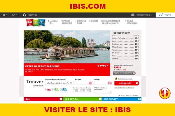 Site internet : Ibis