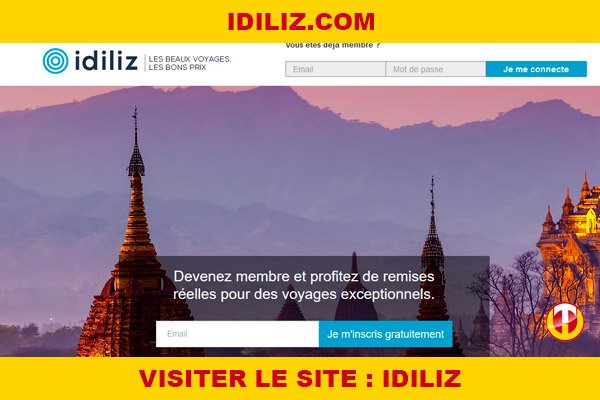 Site internet : Idiliz