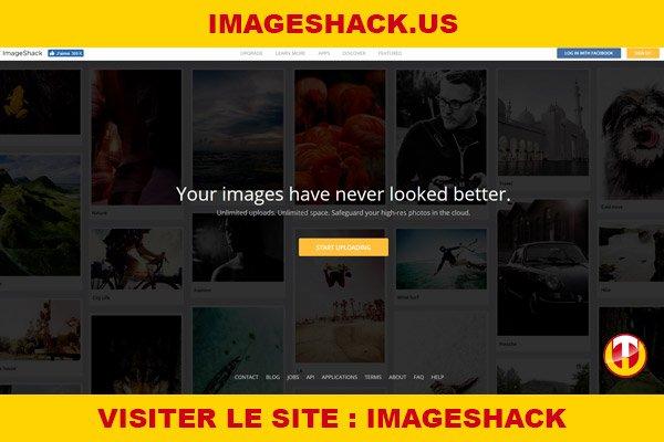 Site internet : Imageshack