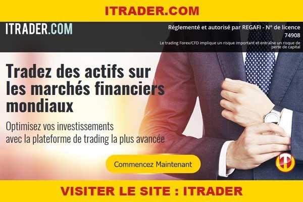 Site internet : Itrader