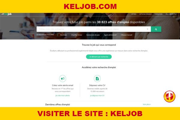 Site internet : Keljob