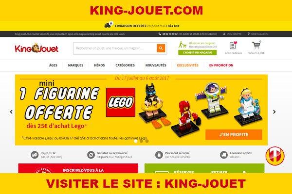 Site internet : King-jouet