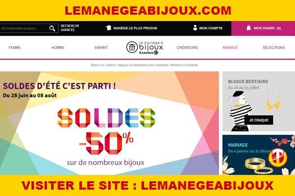 Site internet : Lemanegeabijoux
