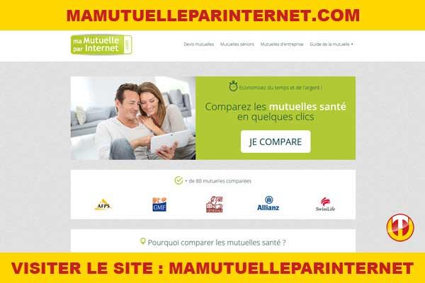 Site internet : Mamutuelleparinternet