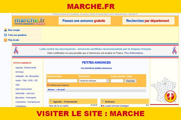 Site internet : Marche