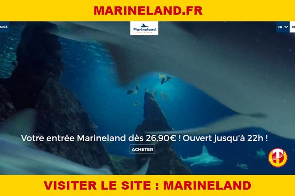 Site internet : Marineland