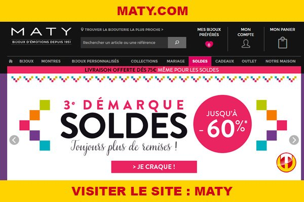 Site internet : Maty
