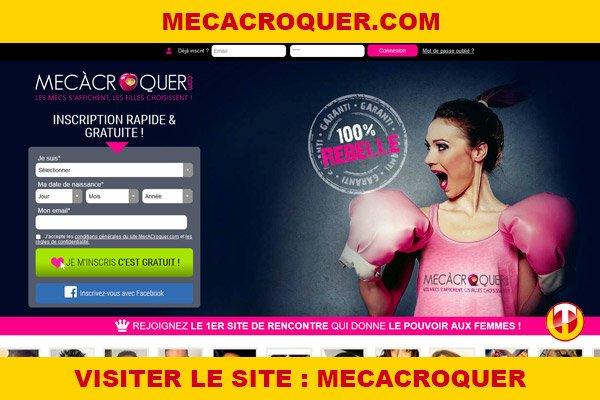 Site internet : Mecacroquer