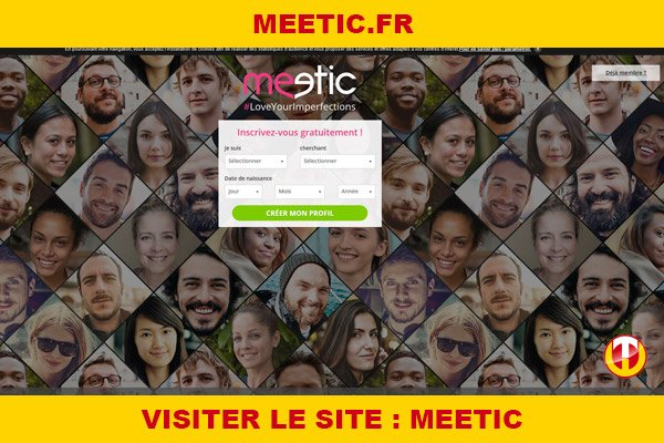 Site internet : Meetic