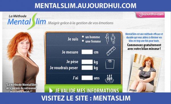 Site internet : Mentalslim.aujourdhui