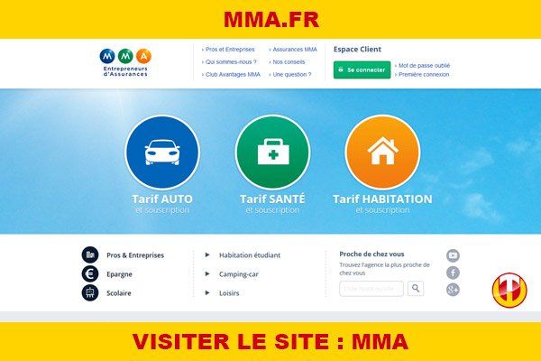 Site internet : Mma