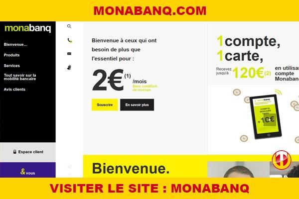 Site internet : Monabanq