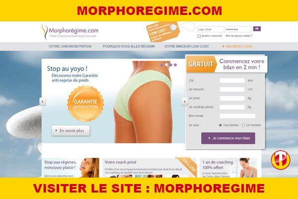 Site internet : Morphoregime