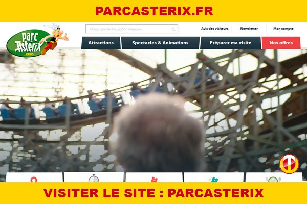 Site internet : Parcasterix