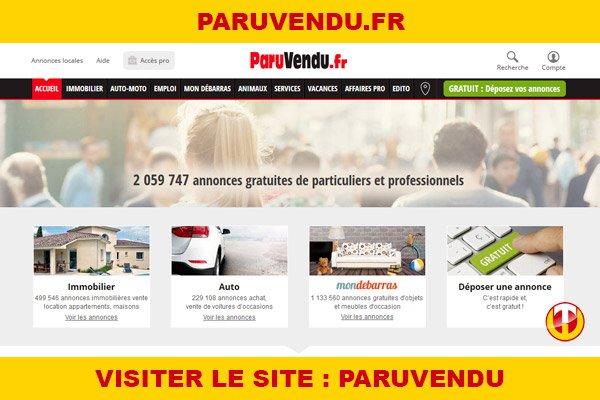 Site internet : Paruvendu