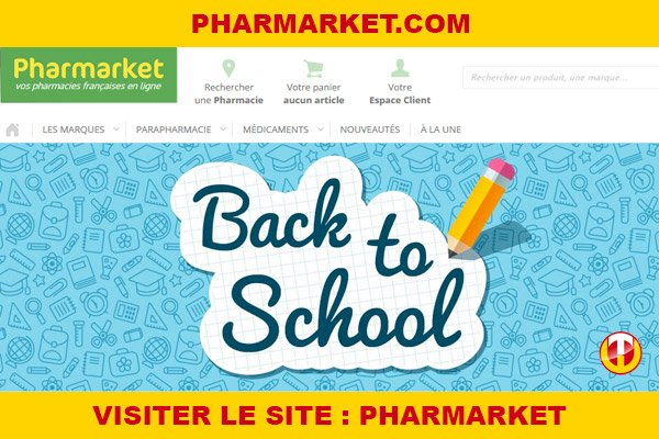 Site internet : Pharmarket