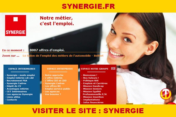 Site internet : Synergie