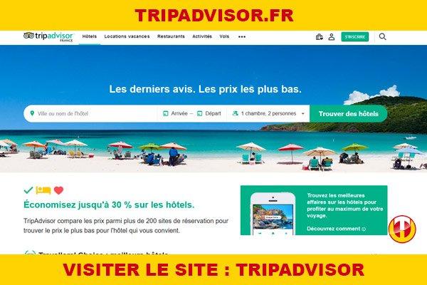 Site internet : Tripadvisor