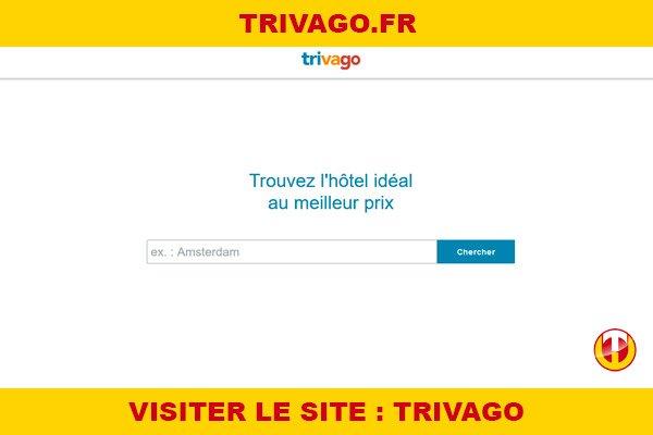 Site internet : Trivago