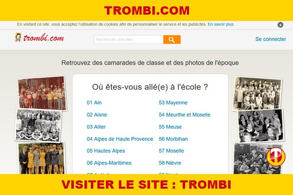 Site internet : Trombi