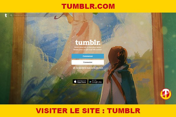 Site internet : Tumblr