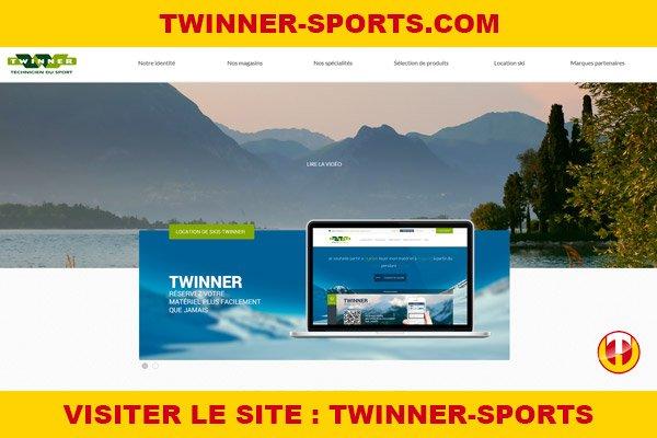 Site internet : Twinner-sports