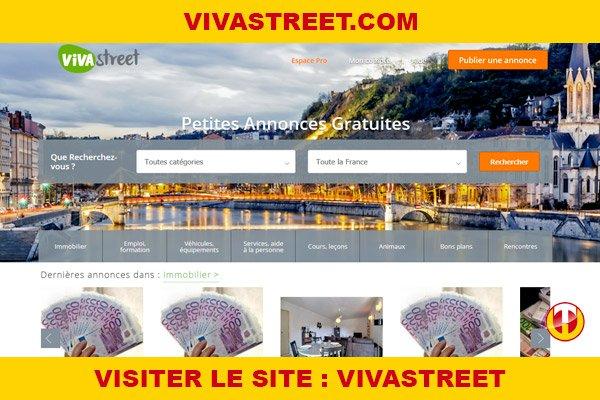 Site internet : Vivastreet