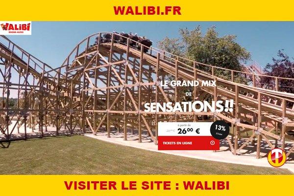 Site internet : Walibi