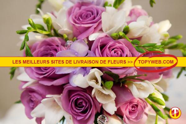 Top 10 des sites de livraison de fleurs for Livraison de fleurs demain